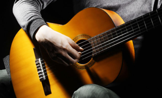 струны гитары слушать